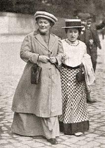 کلارا زتکین و رزا لوکزامبورگ ۱۹۱۰