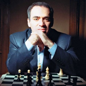 UNDATED -- BC-TURNING-POINTS-RUSSIA-KASAPAROV-1100-WDS-NYTSF -- Former world chess champion Garry Kasparov is chairman of the United Civil Front and a leader of the pro-democracy coalition The Other Russia. He lives in Moscow. (Credit: Fred R. Conrad/The New York Times)