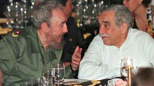 فیدل کاسترو و گابریل گارسیا مارکز