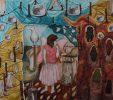 نگاهی به نقاشی های آتوسا بنده: رویاهای پریشان زیبا