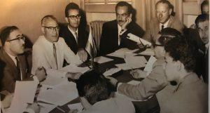در یکی از جلسات اوپک به همراه فؤاد روحانی