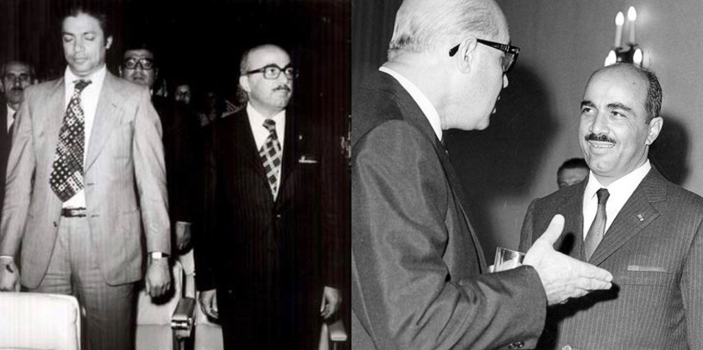 منصور روحانی با مهندس جعفر شریف امامی و داریوش همایون