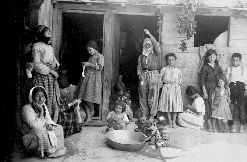پناهندگان ارمنی در حلب، ۱۹۲۲